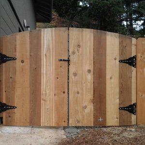 Impregnácia dreva na dverách