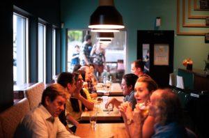 Otvorenie reštaurácie so svojimi blízkymi