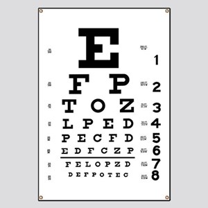 Test zraku u očného lekára