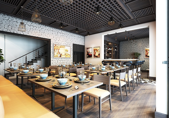Otevření restaurace ve velkém stylu