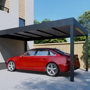 Dizajnový prístrešok na auto